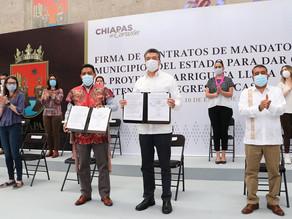 En Chiapas, se garantiza alimentación de la niñez para contribuir en su desarrollo educativo