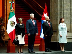 Los presidentes de Cuba y México ratifican interés por ampliar la cooperación