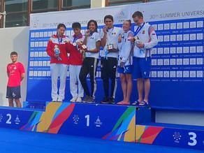 Más medallas para México