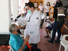 Avanza cobertura de vacunación contra COVID-19 en municipios de Chiapas