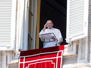 """El Papa llama a una """"tregua mundial"""" para ayuda humanitaria"""