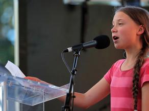 Senado invita a México a joven activista Greta Thunberg