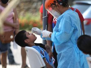 Más de 1,9 millones de menores se contagiaron de covid en América en 2021