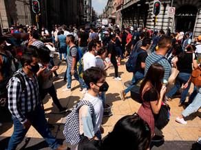 México reporta 420 nuevas muertes y 6.320 contagios por coronavirus