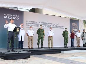 Gobierno de Chiapas se suma a estrategia del INM para proteger la vida, salud y seguridad en México