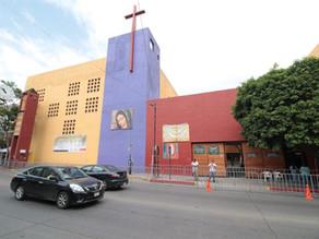 Más de seis mil feligreses visitaron la iglesia de Guadalupe en Tuxtla