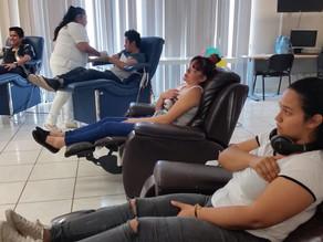 Se lleva a cabo con éxito la Colecta de Donación de Sangre en Hospital Pediátrico