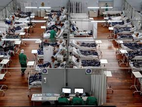 La mitad de las ciudades de Brasil no tuvo muertes por covid la última semana