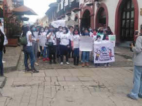 Niños yadolescentes se pronuncian contra el maltrato infantil