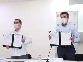 """Firman convenio """"Blindaje Electoral"""" para fortalecer la legalidad en estas elecciones 2021"""
