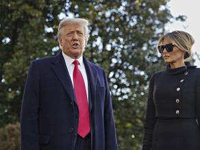 Trump y su esposa se vacunaron antes de abandonar la Casa Blanca