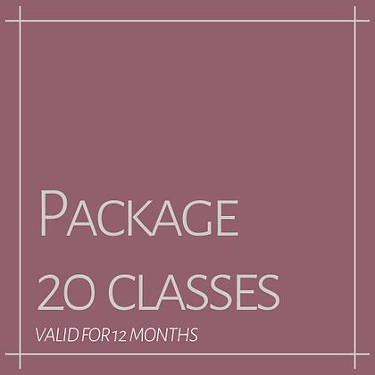 20 CLASS