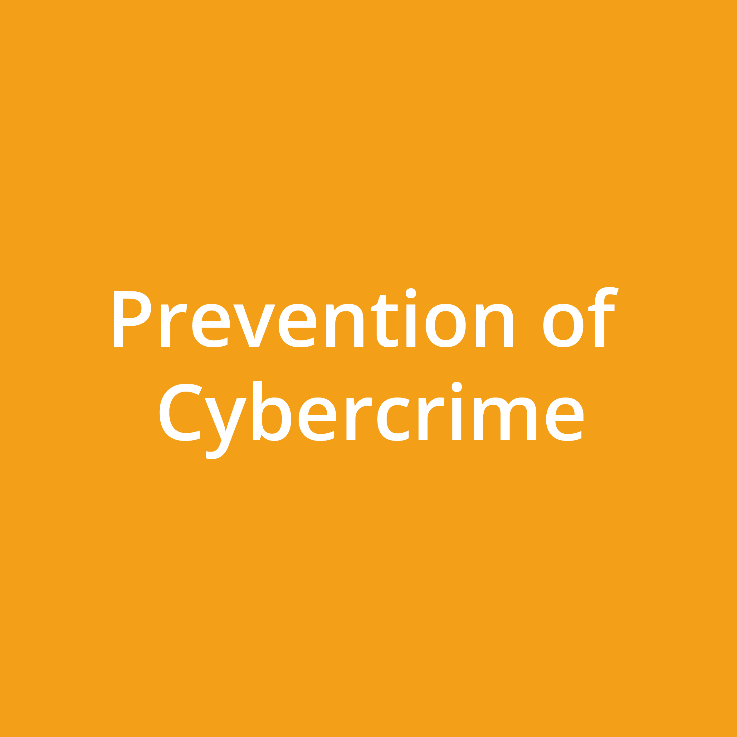 Prevention of Cybercrime