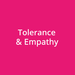 Tolerance & Empathy