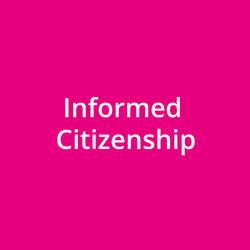 Informed Citizenship