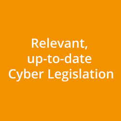 Relevant, up-to-date Cyber Legislation