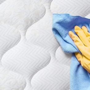การทำความสะอาดที่นอนยางพารา
