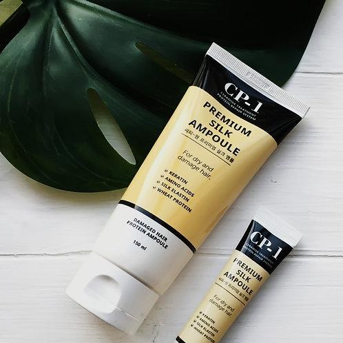 Несмываемая сыворотка д/волос с протеинами шелка CP-1 Premium Silk Ampoule, 150