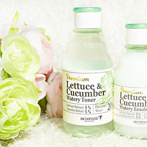 SKINFOOD Premium Lettuce & Cucumber Watery Emulsion