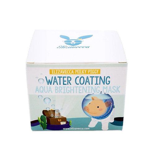 Elizavecca Увлажняющая маска для сияния кожи Milky Piggy Water Coating Aqua Brig