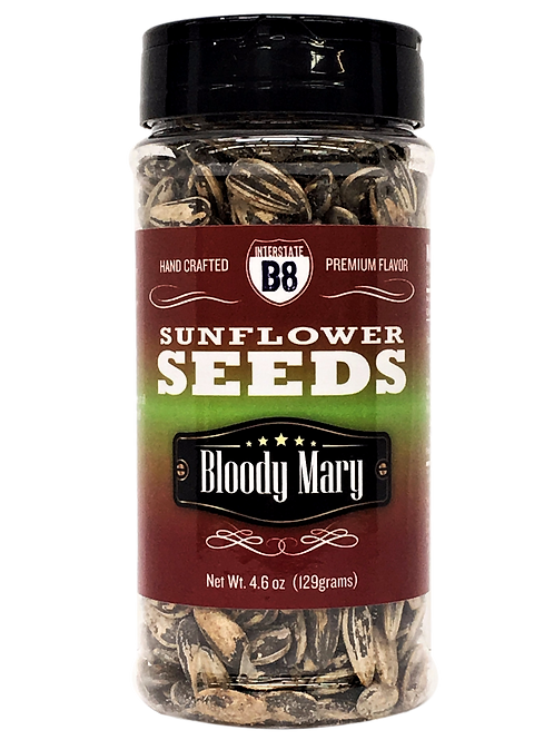 Bloody Mary Sunflower Seeds