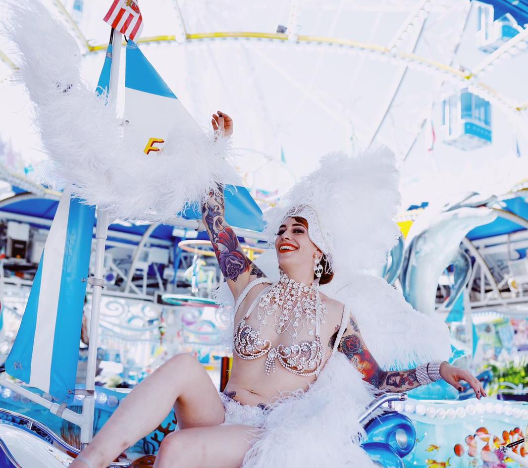 Foto: Cina Uicker H&M: Danijela Imamovic Model: Diva Desaster WasenShooting2018
