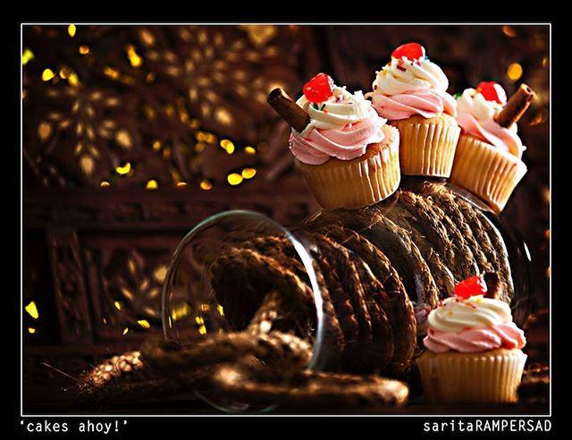 Vanilla Sundae Cupcake