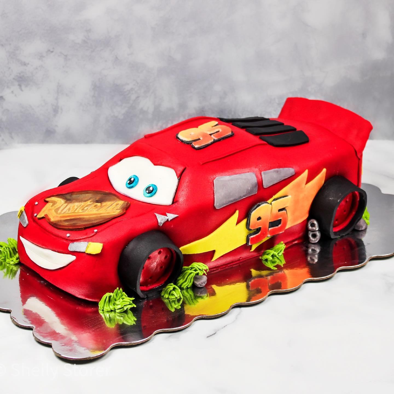 Cars Theme 3D Cake