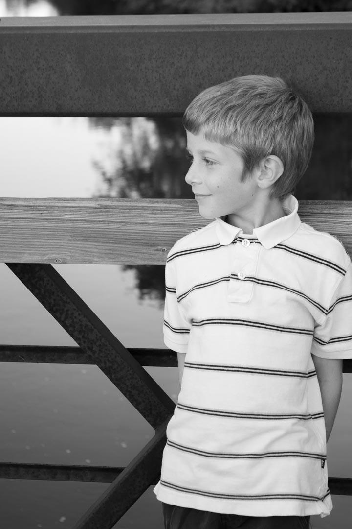 children portrait black and white