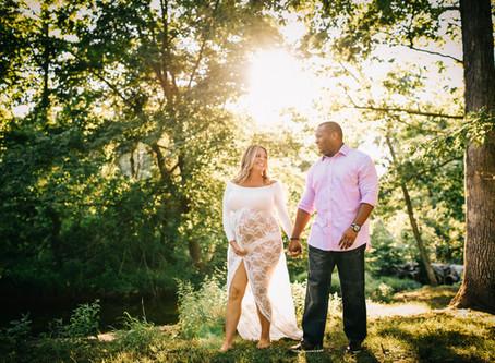 Jamar & Alexis   Northern Virginia Maternity Photographer