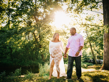 Jamar & Alexis | Northern Virginia Maternity Photographer