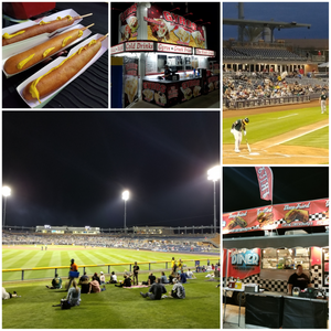 Photos of the Peoria Sports Complex at 2018 Spring Training game:  Seattle vs. Oakland.