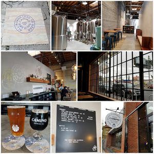 various images of camino brewing company in san jose california
