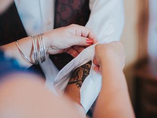Korpa y Bea . Wedding, tattoos and metalcore