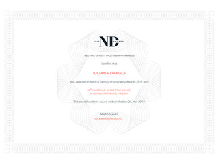Segundo Premio - ND Awards