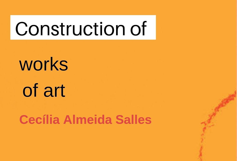 Networks of creation : construction of works of art