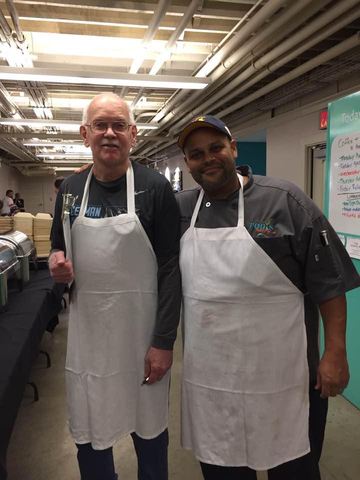 Jim and Chef  Eduardo