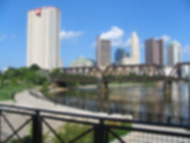 GVWC walks in Downtown Columbus, Ohio