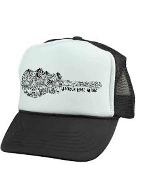 d33a44c72cbf05 Jackson Hole Music Trucker Hat