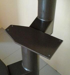 Проміжкова ланка модульних сходів