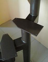 Каркас модульних сходів другого покоління.