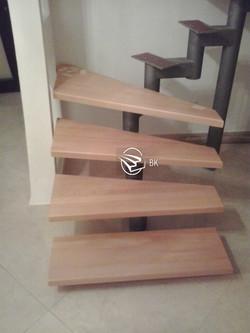 11. Каркас к модульной лестнице.