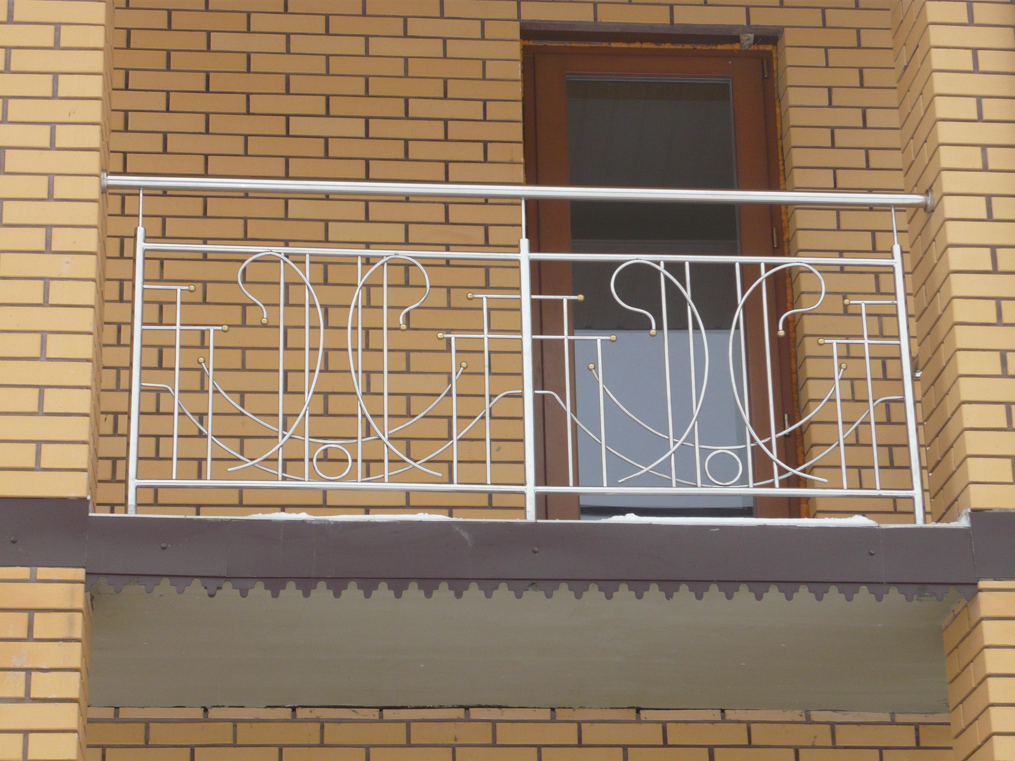 19. Балкон из нержавейки Львов.