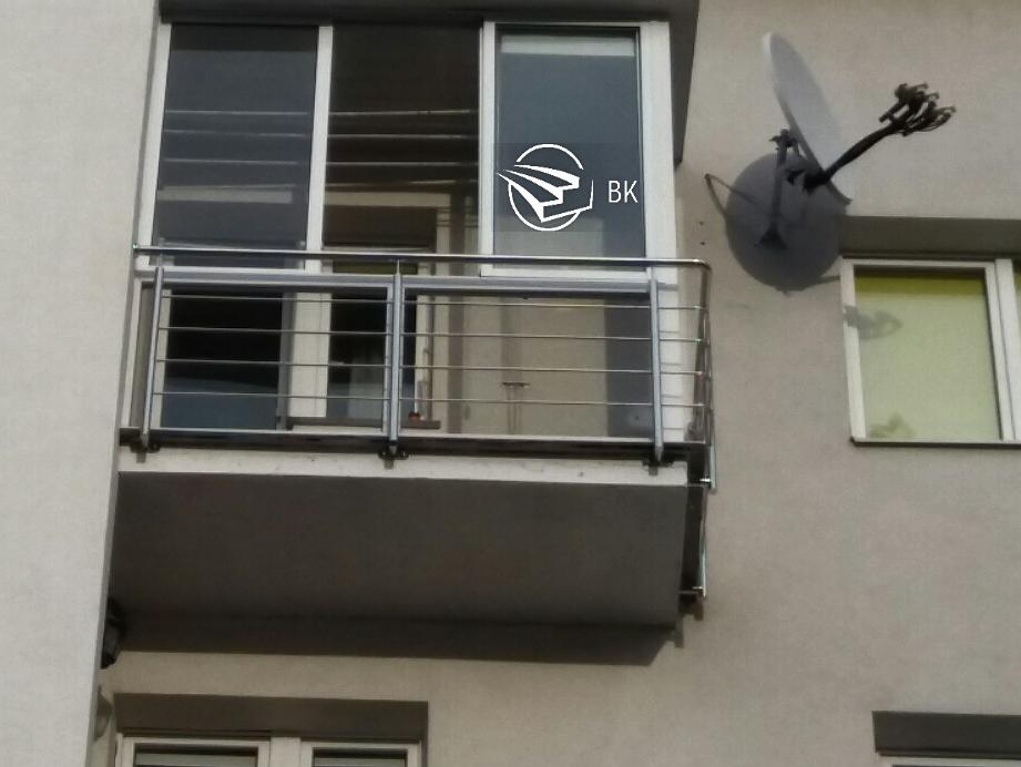 16. Ограждение на балкон Львов.