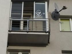 17. Огородження на балконі.