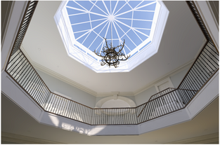 New Atrium space in Historic Country House