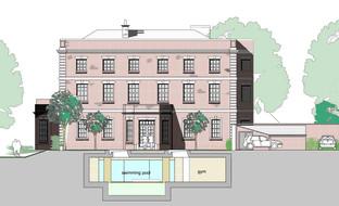 Reviving fire damaged Daresbury Hall