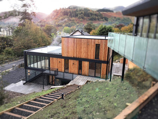 Contemporary development in Ullswater