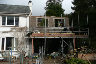 New private house extension near Keswick