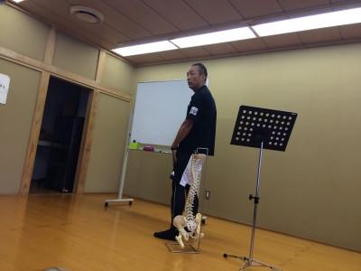 怪我をしにくい身体づくり講習会を開催しました